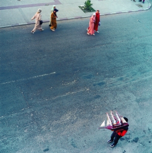 Yto Barrada, Le Détroit, avenue d'Espagne, Tangier (2000). From A Life Full of Holes: The Strait Project (1998-2004). Courtesy of the artist.