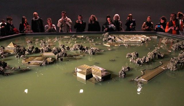 Alfredo Jaar, Venezia, Venezia, for the Chilean Pavilion, the 55th Venice Biennale, 2013. Photo ©Haupt & Binder for Universes in universe.