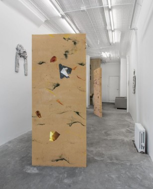 A.K. Burns, Ending with a Fugue, 2013, installation view. Courtesy the artist and Callicoon Fine Arts, NY.