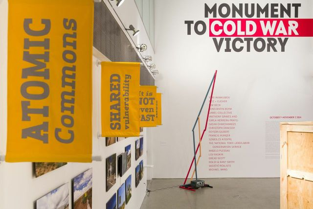 Monument to Cold War Victory, installation view, 41 Cooper Square, Cooper Union, New York.