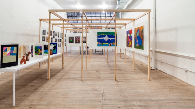 Installation view from Welcome to my World, Artists Space, 2014. Courtesy Artists Space. Photo: Daniel Pérez.