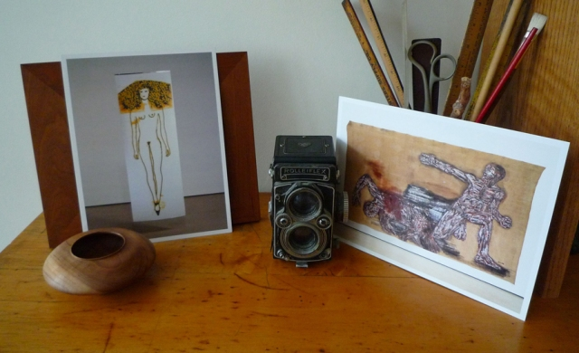 Gallery cards, © Kathleen MacQueen.