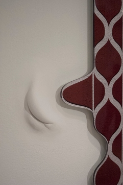 Analia Segal, Implosion, installation detail, Opus Projects Gallery, 2015. Courtesy the artist and Opus Projects, New York.