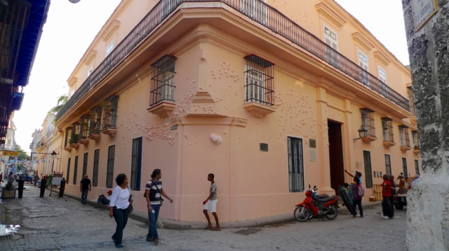 "Patricia Villalobos Echeverría, cystema @ 23°8'27.054""N 82°21'10.117""W, installation view at Centro de Arte Wilfredo Lam at the XI Havana Biennial, Havana, Cuba, 2012. Courtesy of the artist."